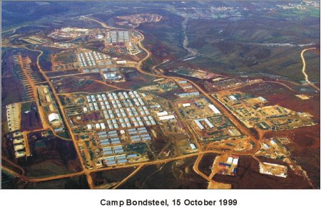 Close-up View, Camp Bondsteel, Kosovo