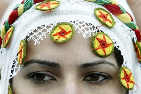 Kurdish Woman's headdress