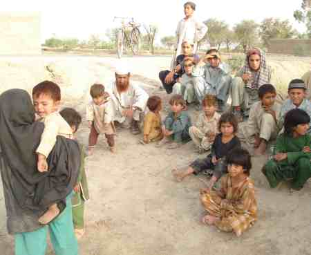 "South Waziristan Children, now ""Internally Displaced Persons"", others remain behind and will become ""collateral damage"", another nice term for DEAD"